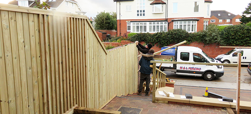 Fencing Panel Construction